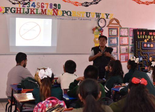 Refuerza Salamanca acciones contra el acoso escolar