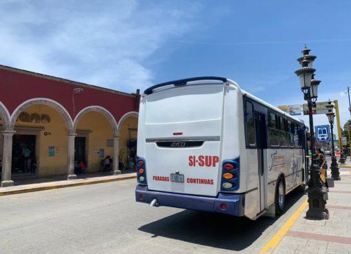 Revisan unidades de transporte público del municipio de Silao