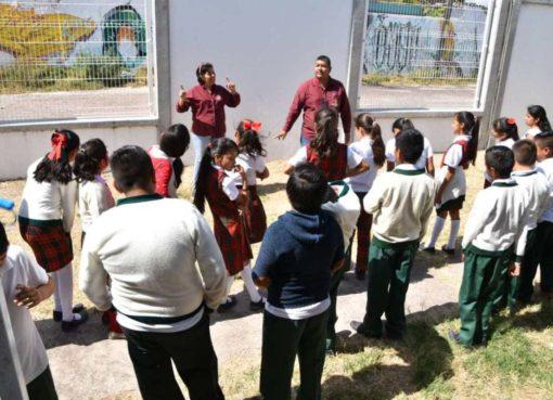 Programa «Pandilla de la Guardia Civil» llega primarias de Salamanca