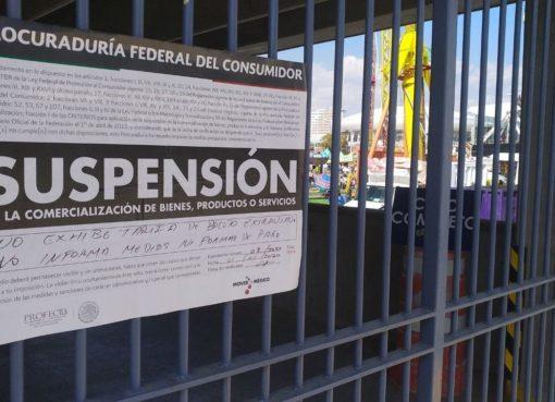 Faltas en información, motivo para clausurar estacionamiento en Feria de León: Profeco