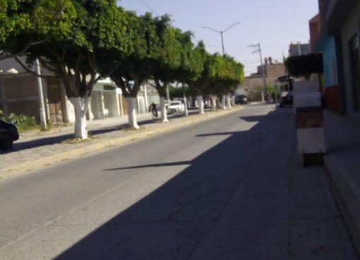 Piden vigilancia en avenida principal de Apaseo el grande