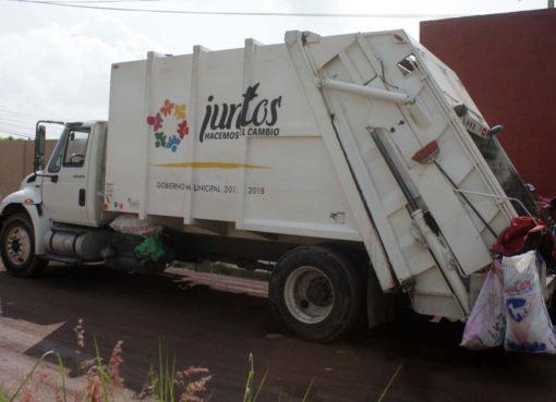 Por estar más lejos, comunidades reciben menos servicios de recolección en Juventino