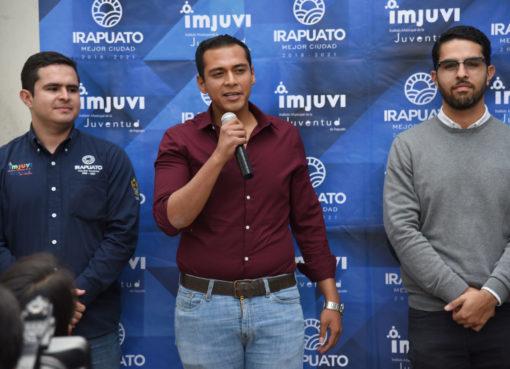 Busca IMJUVI proyectos sociales de jóvenes irapuatenses