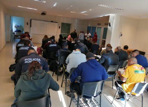 Elementos de Seguridad Ciudadana de Silao presentan examen de bachillerato