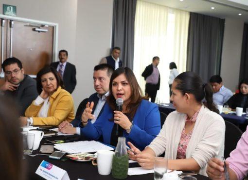 Alcaldesa Elvira Paniagua encabezó primera mesa de trabajo 2020 de la Red Guanajuatense de Municipios por la Salud