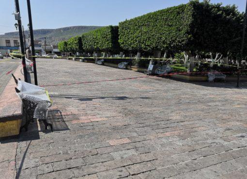 Cierran espacios públicos en Cortazar, Comonfort y Apaseo el Alto.