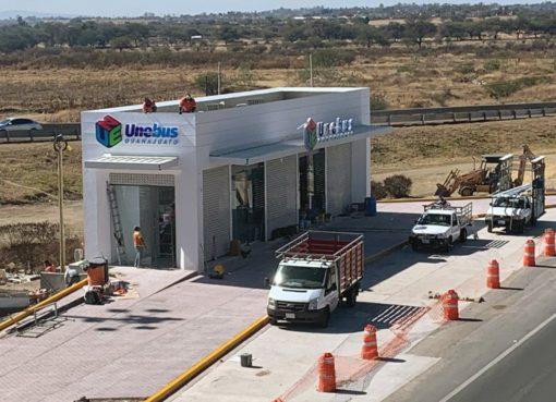 UNEBUS ya cuenta con una microestación en Puerto Interior