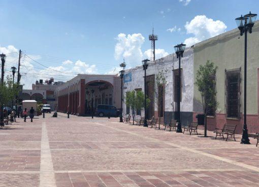 Reabren el 30% de los comercios locales en Apaseo el Grande.
