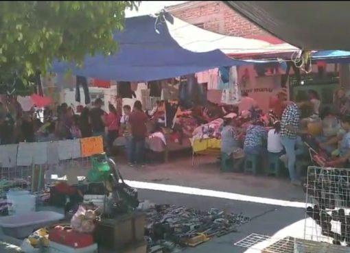 Reanudan actividades en tianguis del Cerrito Colorado en Cortazar