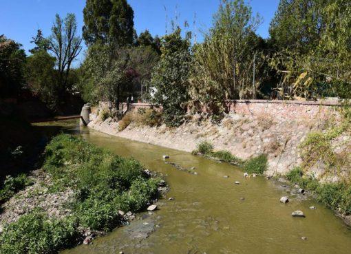 Apoyará CONAGUA a Apaseo el Grande para reforzamiento y desazolve del Río Querétaro.