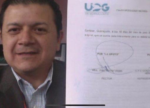 Firma UPGTO convenio con ASEZI para realizar prácticas profesionales