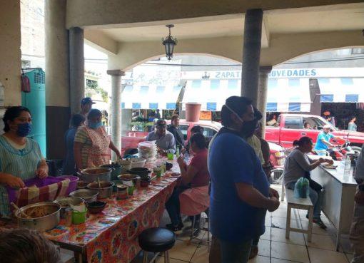 Establecen medidas para la reapertura de Mercado Antonio Plaza en Apaseo el Grande