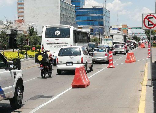 Arranca ciclovía de seis kilómetros en bulervard Adolfo López Mateos de León