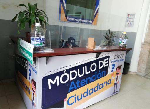 Colocan contenedores en dependencias municipales para depositar pilas usadas