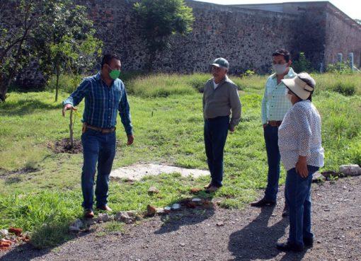 Comienzan trabajos de rehabilitación de parque en Apaseo el Grande