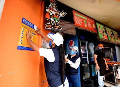 Brigadas «Unidos Contra el Covid» han visitado 5 mil 115 negocios de Irapuato durante pandemia