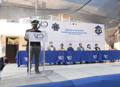 Egresan 30 cadetes de la Academia de la Policía Municipal de Silao