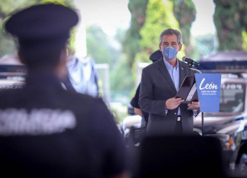Fortalecen a la corporación de seguridad de León con nuevas patrullas
