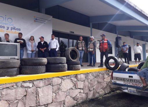 Municipio de Silao invita a la campaña de Acopio de Neumáticos fuera de Uso y Acopio de Electrónicos