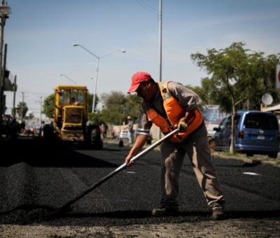 Reencarpetan y bachean más de 50 mil metros cuadrados de calles