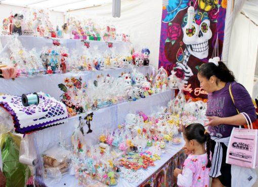 Feria del Alfeñique de Cortazar cuenta con las medidas de prevención sanitaria