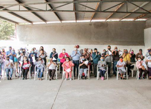 Entregan calentadores solares en comunidades de Cortazar