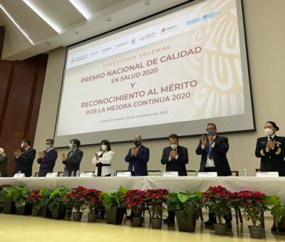 Dirección de desarrollo social institucional recibe premio nacional de calidad en salud 2020