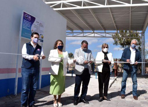 Fortalecen infraestructura del Centro Gerontológico en Apaseo el Grande