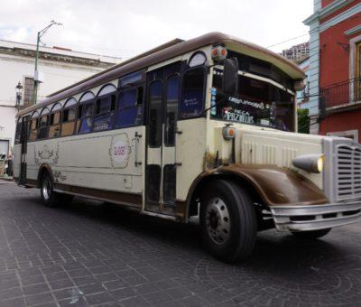 Reinstalarán paradas de transporte público en Zona Centro