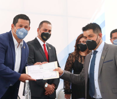 Guanajuato se distingue por su paz laboral: Gobernador