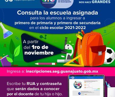 SEG asegura que los alumnos tengan un lugar en instituciones públicas de educación básica