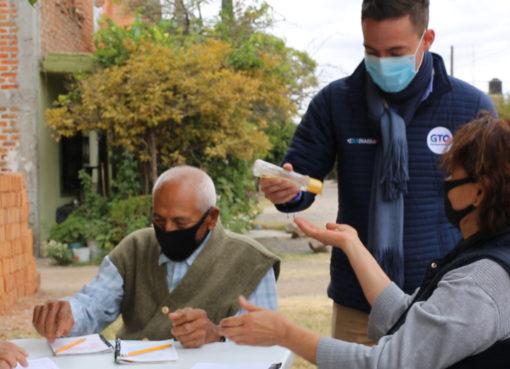 Son promotores de la salud durante pandemia