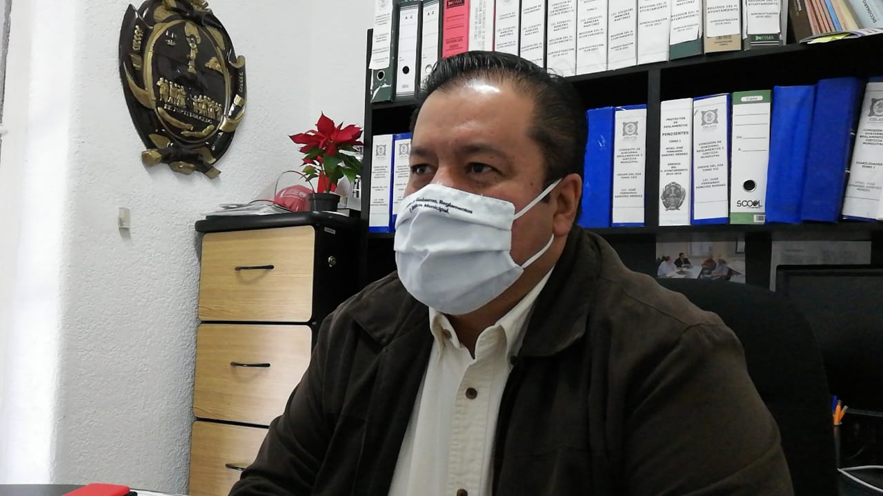Quién transite sin cubrebocas en Celaya será remitido a comandancia en calle Pipila