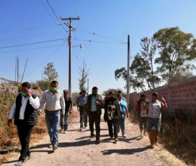 Redoblarán esfuerzos para terminar obras públicas en Apaseo el Grande