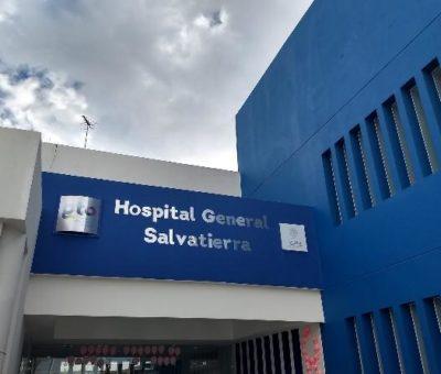 Hospital de Salvatierra se encuentra a su máxima capacidad