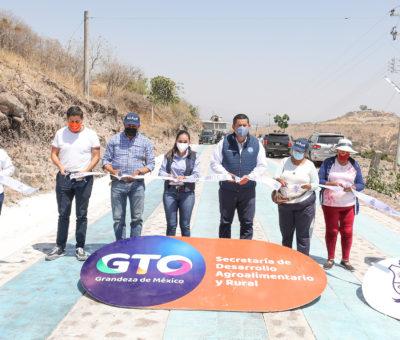 Destinan 130 MDP para obras y acciones en Cuerámaro