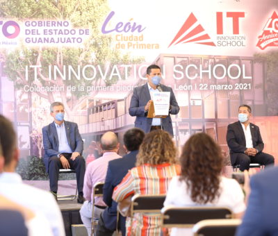 Se fortalece la oferta educativa con la construcción del Instituto Tepeyac.