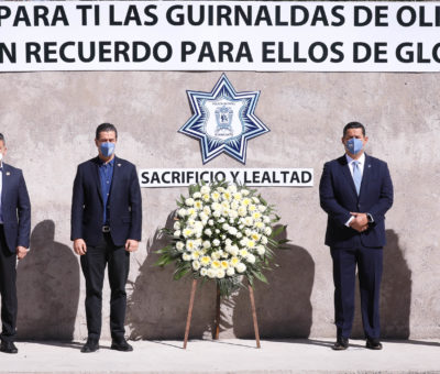 Encabeza el Gobernador la ceremonia del 188 Aniversario de las Fuerzas de Seguridad Pública del Estado.