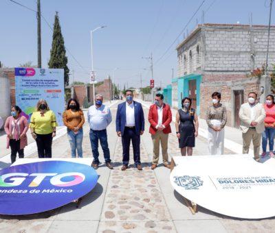 Más de 363 mdp ha invertido Estado y Municipio en obras para la gente de Dolores Hidalgo.