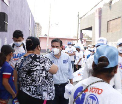 Impulsará Poncho Borja acciones mediante la Gestión Social en favor de las Familias.