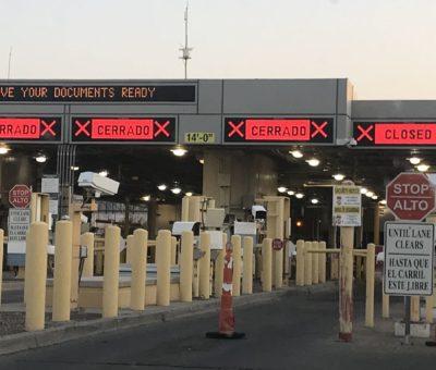 Gobierno federal asegura que pronto se reabrirá totalmente la frontera con Estados Unidos.