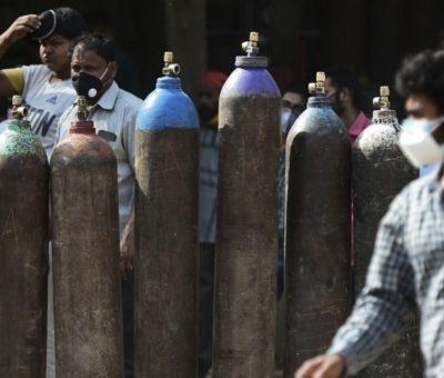 Llegan a India suministros médicos para enfrentar pandemia de Covid-19
