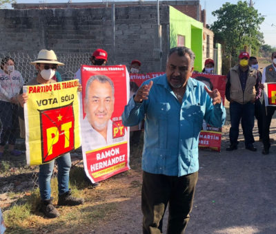El pueblo es primero para Ramón Hernández