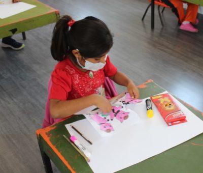 SEG supervisa medidas sanitarias aplicadas en el proceso educativo de hijos de migrantes