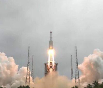 Restos del cohete chino se desintegran y caen en el Océano Índico