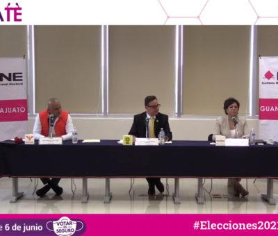 Promueve INE Guanajuato voto informado a través de debates entre candidaturas a diputaciones federales