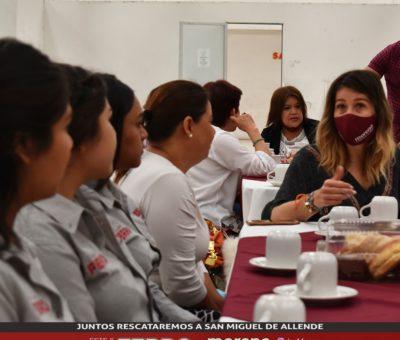 Martha Ramírez de Ferro reafirmó su compromiso con mujeres sanmiguelenses para trabajar con ellas
