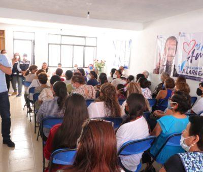 Afianza Compromiso Luis Alberto Villareal García con vecinos de la colonia Guadalupe