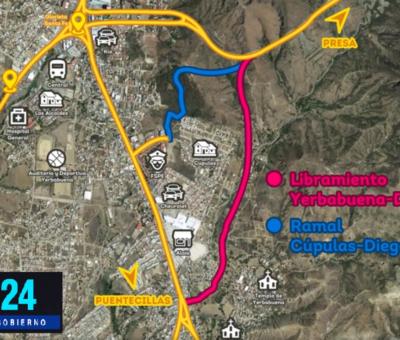 Proyecta Navarro nuevo circuito vial de la zona sur al centro de Guanajuato