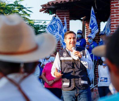 Poncho Borja se compromete a fortalecer a las familias del Distrito XIX a través de un trabajo social